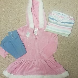 Gymboree fairy dress set